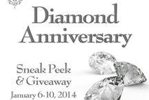 Spellbinders Diamond Anniversary Sneak Peek Reveals / products revealed during Spellbinders' Diamond Anniversary Sneak Peek week / by Spellbinders