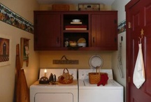Primitive Laundry Rooms♥ / by Lisa DeCicco