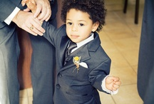 The Ring Bearer / This little guy wants to look just like the others too!... just a tad bit smaller and more handsome of course!  / by Flowers by Anna