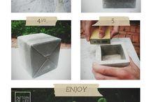 Concrete pots / by Sally Meakin