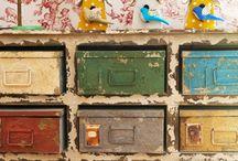 Muebles Industriales / by El Taller de Lo Antiguo