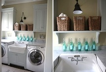 Laundry Room Ideas / by Kate with a Camera
