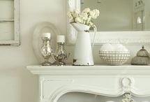 country vintage ~ creamy whites / by sharie kowalski