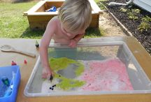 Things to put in a Sensory box / by Play At Home Mom