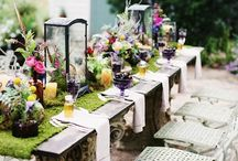 Brunch Table Decor / by Strawberry Mommycakes