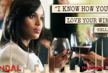 scandal wine / Olivia Pope downs scads of red wine and is the biggest grapefriend on tv / by grapefriend.com