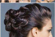 hair nails and makeup / Hair make up nails / by Tammy Lejeune