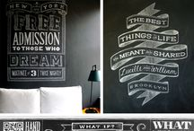 Typography + Hand Lettering / by Raksa