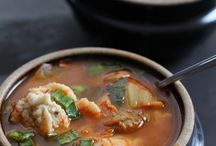 Soups On! / by Susan | Girl In The Little Red Kitchen