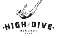 High Dive Show Posters / Show Posters for High Dive Artists & Events / by High Dive Records