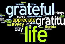 Gratitude Project / What we are grateful for. / by Kris Nelson