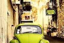 V W Bug & Vespa's / by Valerie Cline
