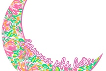 As long as the crescent's in the sky, my heart will being to dear Gamma Phi <3 / by Lindsey Pinto
