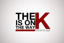 """The K is on the Way """"Logos"""" / by Karate WKF"""