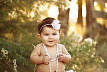 6-7 month baby picture ideas / by Dawn Lent