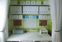 storage solutions / home office / by Chelsea Au