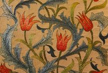 textiles and patterns / by Debra Davis