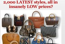 designer bags / by Patricia Levy