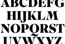 Typography / by Peter Hahn