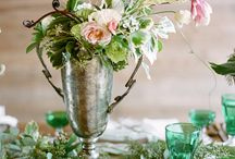 """Southern Silver / """"And a silver sixpence in her shoe..."""" Featuring silver on your wedding day / by Southern Weddings Magazine"""