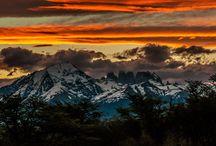 Awasi Sunsets / Watching the sunset at Awasi Patagonia and Awasi Atacama / by AWASI
