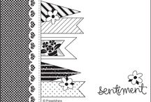 Card & Scrapbooking Sketches / by Annette Davis - Independent Stampin' Up! Demonstrator