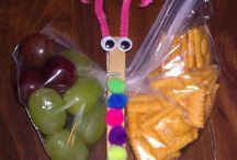 Kindergarten snacks / by Michelle