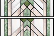 Stain glass panels / by Deb Munsterman
