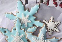 Galletas Navidad:copos de nieve / by Marieta Bel