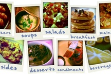 Food :) / For nutrition and to satisfy the body. You can make any recipe lowfat or low cal! Ask me how!  / by Hilary Tumey