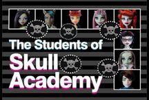 Monster High Doll Series Skull Academy / by Lolas Mini Homes