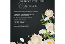Wedding Invitations / Wedding invite inspirations that I love! / by Abby Wood