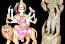 Hindu Goddess Durga / by Lotus Sculpture