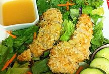 Food~Organic chicken/Wild salmon dishes / by Sarah Leah Avigdori