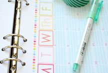 Planner/Agenda ideas / by Kat