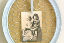 All things Memo board ideas / Memo boards can be created from an old window, old frame, and more.  Upcycle, Recycle, and create! / by Debbiedoo's