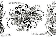 Zentangle Art / Everything Zentangle / by Ania Kozlowska-Archer