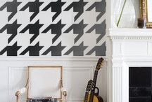 houndstooth / by Kate Morgental