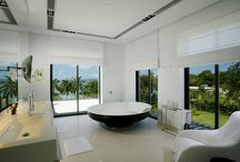Luxury Bathrooms / Because this beautiful bod needs a beautiful room to get nakey in! / by Catherine Tuckey