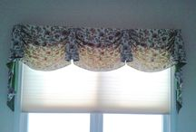 Valance Over Cellular Shades / Layering window treatments is a way to bring in more colors to a room. It also lets you bring more of your personality into a room. / by Window Treatments