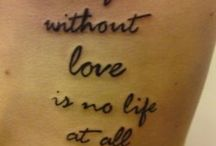 tattoo / by Stephanie VanTassell