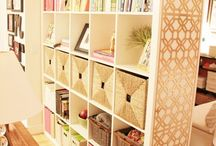 ikea expedit decor / by Kathy Gamez