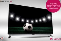 Game On / Get ready for the big game with LG! / by LG India