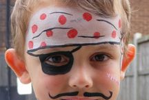 face painting ideas / by Emery Royalty