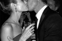 Angelina Jolie and Brad Pitt / by Daria Markovets