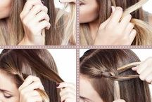 Beauty/Hair styles / by Shelley Crabtree