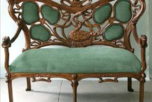 Have a settee  / French love seats, antiques and contemporary / by MaGi Love