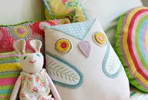 Diy pillows, cushions and throws /  inspiration to make, want and create / by Janneke van de Haterd