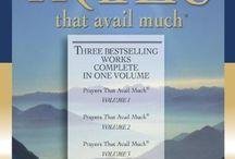 Books on prayers  / by Prayer Ministry