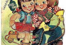 Vintage Lil Cowpokes / by Sheryl Wright Cowey